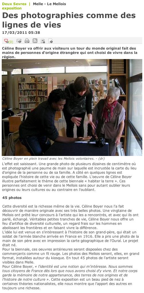 Article du 17 mars 2011